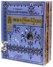 Lewis Carroll Alice im Wunderland Deluxe Geschenk exklusiv Kinder Buch Spielzeug