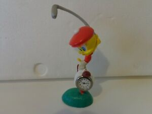 Warner Bros Looney Tunes Tweetie Pie Resin 3D Golf Clock -  made by Westcloxs.