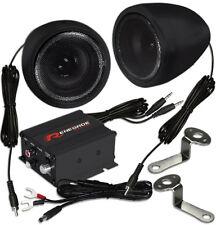Renegade RXA 100B Lautsprecher mit Verstärker für Motorrad Roller Quad Trike