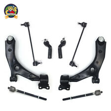 New 8pc Front Lower Control Arm Set & Suspension Kit - Mazda 3 Non-Turbocharged