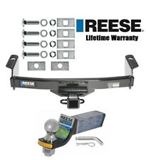 """Reese Trailer Hitch For 83-12 Ford Ranger 94-10 Mazda B w/ Ball Mount & 2"""" Ball"""