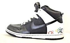 best sneakers 371ec 9ec3d Nike Dunk Alto Negro Blanco 2008 Olimpiadas Vintage para Mujer Talla 9.5  318676-001