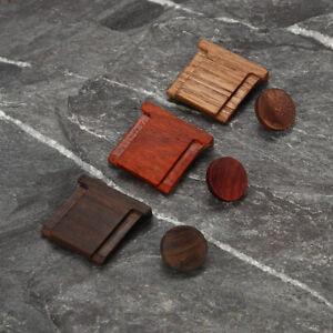 Wooden Wood Camera Shutter Button +Hot Shoe Cover For Fuji For FujiFil /m