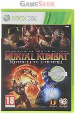 MORTAL KOMBAT KOMPLETE EDITION - CLASSICS - XBOX 360 BRAND NEW FREE DELIVERY