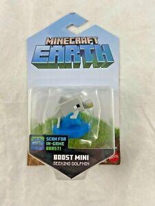 Minecraft Earth - Boost Mini - Seeking Dolphin - Figure - NEW