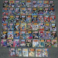 Vintage Star Wars Comics 1-60 X MINI DISPLAY CARDS.WEEKLY,RETRO COVERS! SET-1