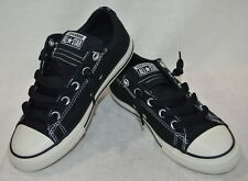 Converse Boy's CT All Star Street Black/White Slip-On Sneakers-Assorted Size NWB