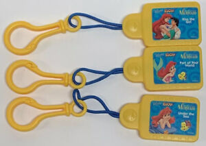 Disney Tunes KIDCLIPS Kid Clips Music Chip Song 3-Pack THE LITTLE MERMAID