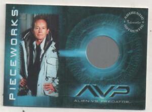 "Alien vs. Predator AVP Costume Trading Card No.PW2 Lance Henriksen ""Weyland"""
