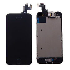 Touch Screen Digitizer LCD Display Full Assembly Replacement For iPhone 5S Black