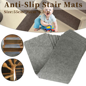 1PCS Non-slip Stair Treads carpet Gray Mats Office Household Indoor Outdoo