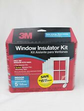 3M Indoor Window Insulator Kit for 5 Windows 3'x5'