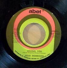 Jesse Morrison: Loving You / Shakey Pudding    [new & unplayed]