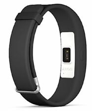 Sony Smartband 2 SWR12 Black Activity Tracker With Pulse Rate Android iOS