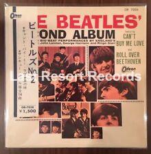 The Beatles Second Album RARE Japan HALF OBI First Press Red Odeon Japanese ROCK