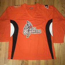 d3aa84499 Tulsa Oilers Haloween Hockey Jersey size 52 XLarge Free Ship to Canada ECHL  CHL