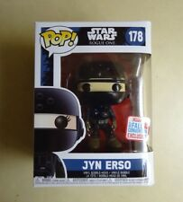 Funko POP Imperial Disguise Jyn Erso Star Wars Rogue One NYCC Exclusive #178