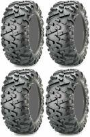 Full Set of Maxxis Bighorn 2.0 28x10-12 ATV Tires (4)