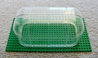 LEGO - Rare - 8 Trans-Clear 6x6x9 Pieces - MOC Greenhouse Microbuild Dome Train