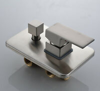 Brushed Nickel Bathroom Single Handle Shower Control Valve with Diverter 3 Ways