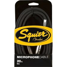Squier By Fender 20ft / 6m Microphone Cable
