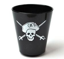 Captain Morgan piratas EE. UU. vidrio plástico vaso Stamper vasos de ginebra shot glass