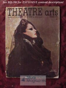 THEATRE ARTS January 1950 E Von Stroheim Mary Martin Sean O'Casey Dalton Trumbo
