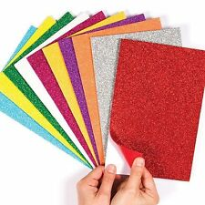 Craft Glitter Foam Sheets  Foam Sheets Pack of 10 NON-ADHESIVE