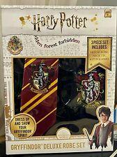 Harry Potter Kids Costume 3 Piece Set: House Robe,Neck Tie, and Eyeglasses