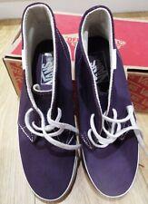Worn Once Vans Mens Shoes Suede Canvas Purple Size 5