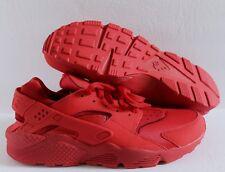 Nike Men's Air Huarache Premium ID Red/Red SZ 14  [777330-978]