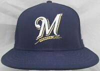 Milwaukee Brewers MLB New Era 59fifty 7&1/8 fitted cap/hat
