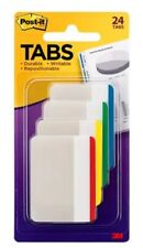 Post It Durable Tabs 686f 1 2 In X 15 In Beige Green Red Canary Yellow