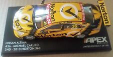 1:43 NISSAN ALTIMA APEX V8 SUPERCARS MICHAEL CARUSO KELLY BROTHERS RACING 2013