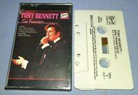 TONY BENNETT SAN FRANCISCO cassette tape album