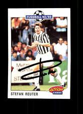 Stefan Reuter Juventus Turin Panini Card 1992-93 Original Signiert+ A 158098