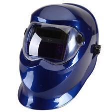 Pro Solar Auto Darkening Welding Helmet Arc Tig Mig Mask Grinding Welder Blue 18