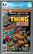 Marvel Two-In-One Annual #1 CGC 8.5 (Jan 1976, Marvel) Jack Kirby Liberty Legion