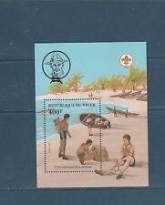 Niger  bloc   scoutisme   1982  num:  38 **