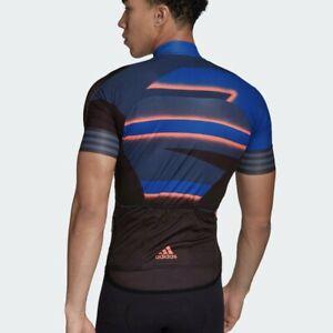 New $160 Adidas Men's Cycling Jersey Maillot Size Small Pro Bike Team Training