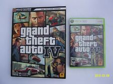 Grand Theft Auto IV(Microsoft Xbox 360,2008)w/Bradygames Official Strategy Guide