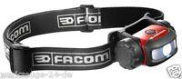 FACOM LED Freihand-Beleuchtung Kopflampe Stirnleuchte Facom Stirnlampe 779.FRT1