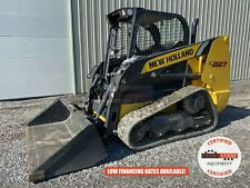 2020 New Holland C227 Track Loader Orop Aux Hyd 2 Speed Sjc Control 411 Hrs