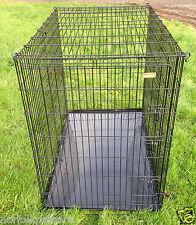 "XXL 54"" Great Dane / Large Breed Dog Cage Black CK54"