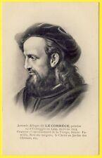 cpa Dos 1900 Ed. HEINTZ-JADOUL PORTRAIT Peintre Antonio ALLEGRI dit LE CORRÈGE