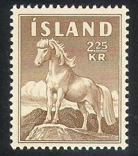 Iceland 1958 Horses/Pony/Nature/Animals/Transport 1v (n34657)