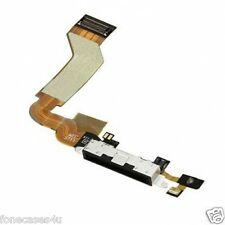 New for iPhone 4S Black Charging Port Dock Connector Flex Cable Replacement Mic