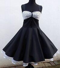 50er,Petticoat, Rockabilly,Tanz,Konfirmation,Abiball,Abend,Kleid,Dress,34-54 Maß