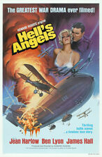 "Hell's Angels Movie Poster Replica 13x19"" Photo Print"