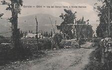 * GORIZIA GORZ - Via del Campo Santo e Monte Gabriele (Slovenia) WWI
